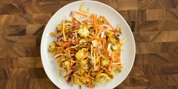 Curry Cauliflower Slaw