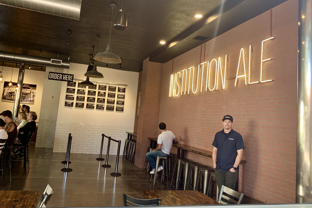 Institution Ale Neon Sign