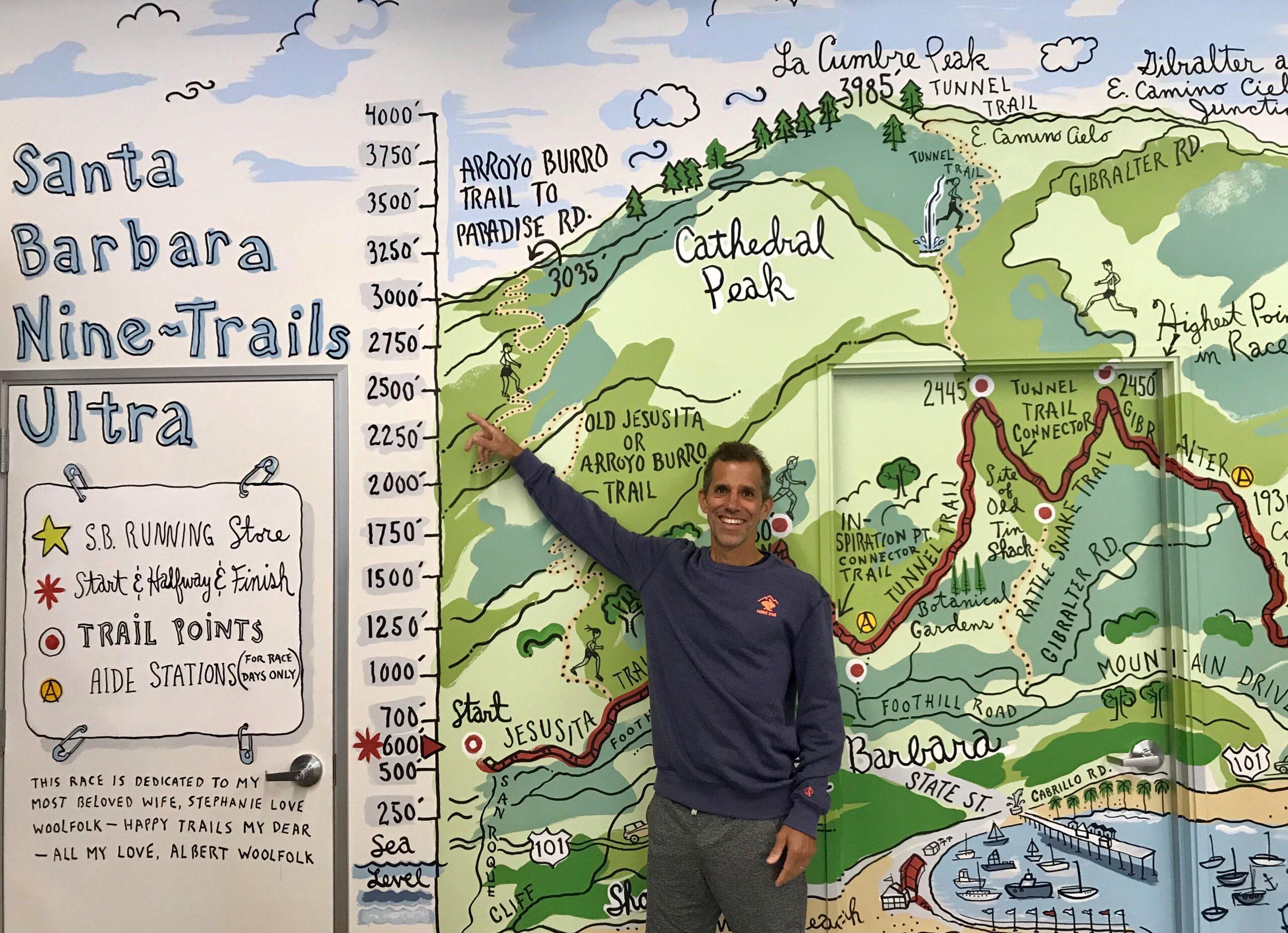 9 Trails Mural