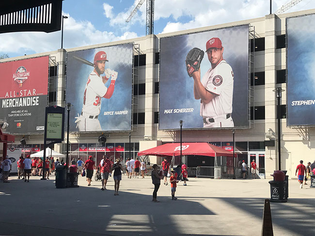 Team Store at Nationals Ballpark
