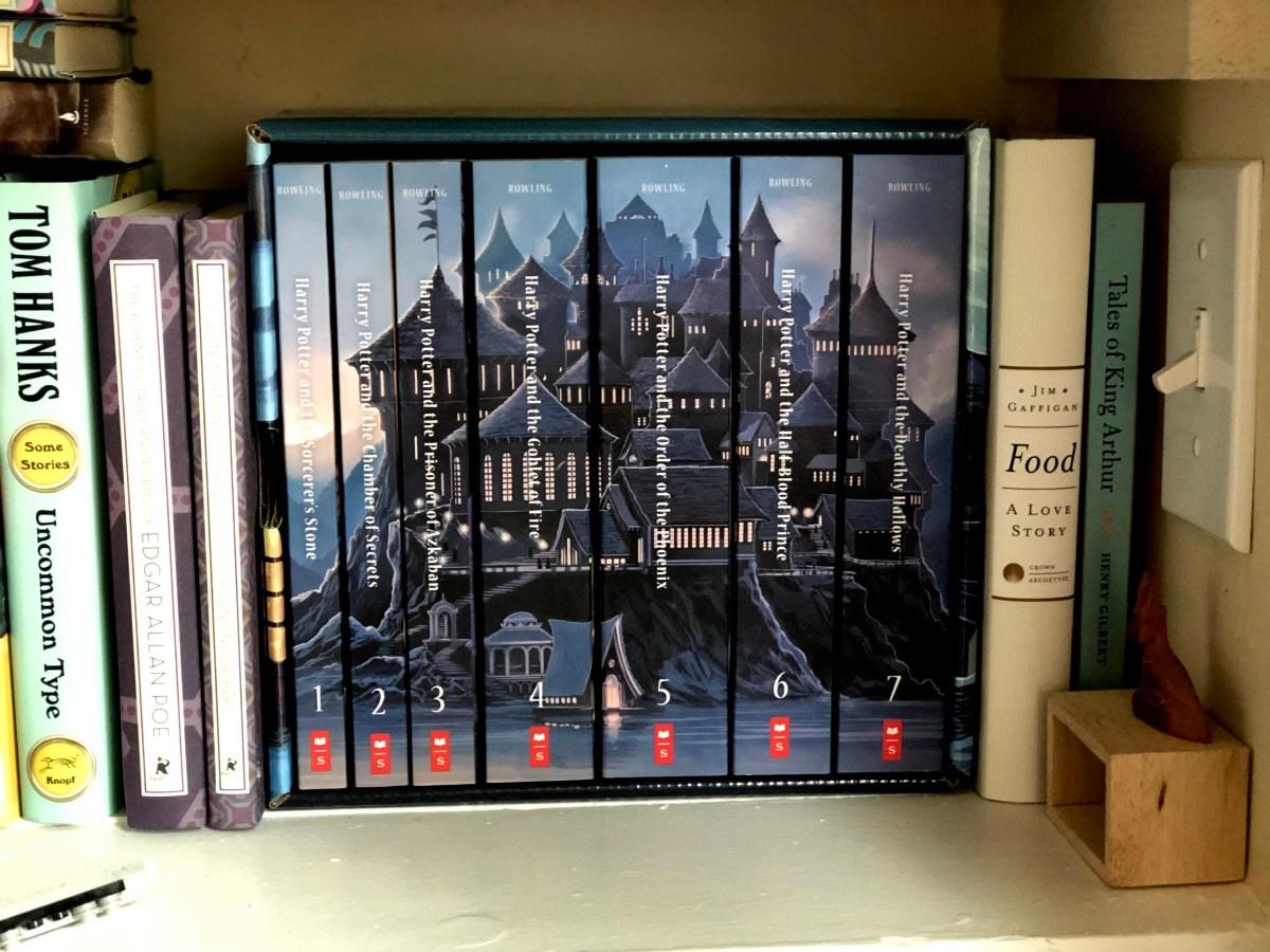 Harry Potter Castle Book Set