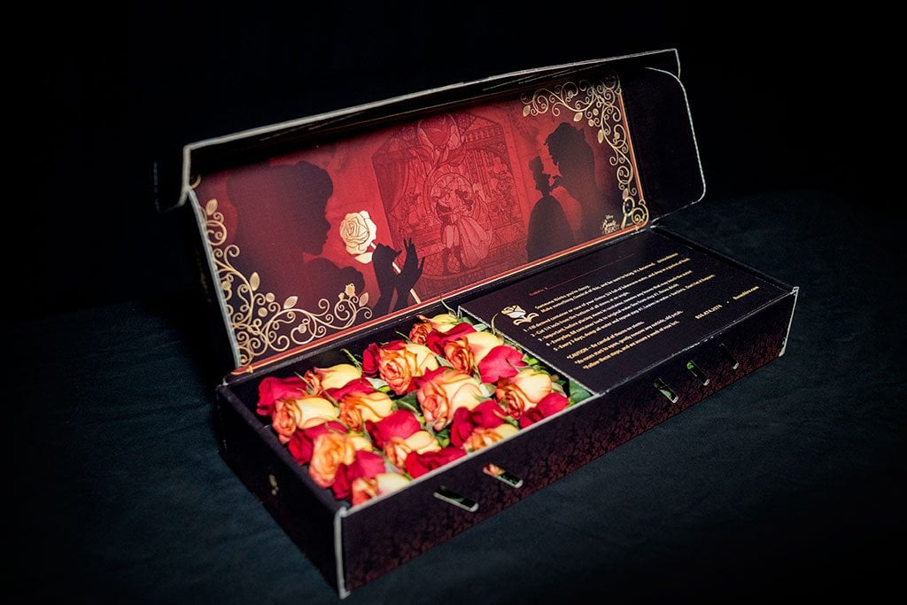 Beauty and the beast roses