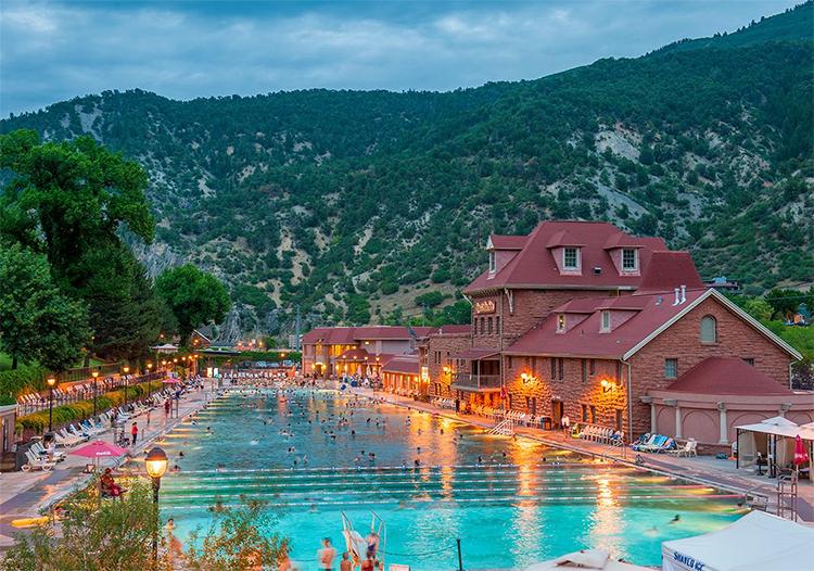 Courtesy of Glenwood Hot Springs Resort.
