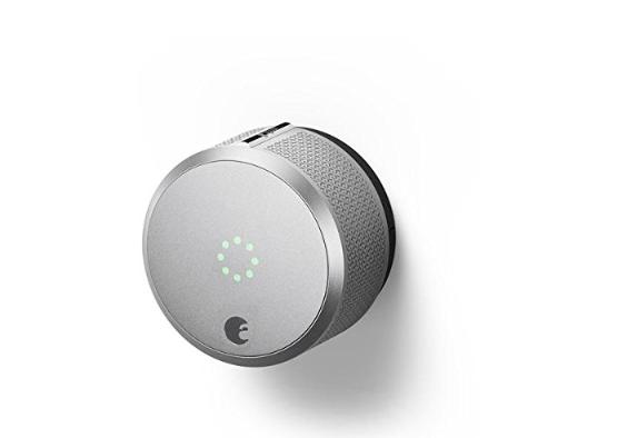 August AUG-SL-CON-S03 Silver Smart Lock Pro