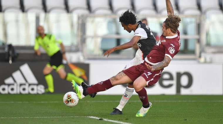 Goal - 2: 0 - 29 'Cuadrado H. (Ronaldo K. + Ronaldo K.), Juventus. GOAL - 2: 0! Cristiano Ronaldo made the assist, Juan Cuadrado (Juventus) closed the pass into the left corner of the goal, and Salvatore Sirigu again missed the ball.