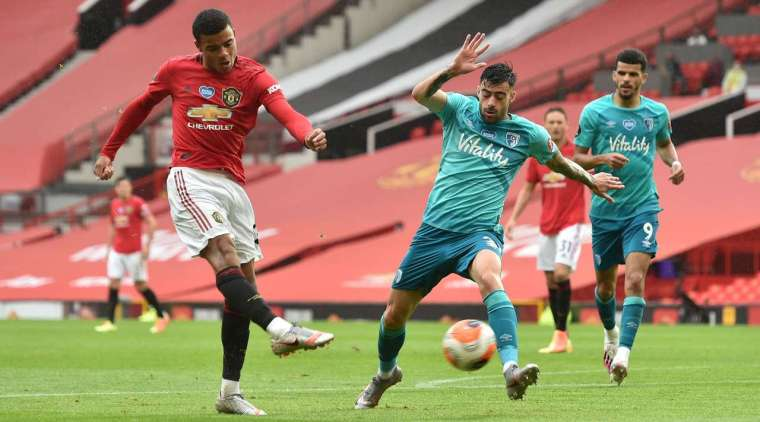 Goal - 4: 2 - 54 'Greenwood M. (Matich N. + Matich N.), Manchester United Goal! Mason Greenwood (Manchester United) elegantly handled a strong pass from Nemanja Matic in the penalty area. He got rid of custody and spun the ball into the upper left corner. 4: 2.
