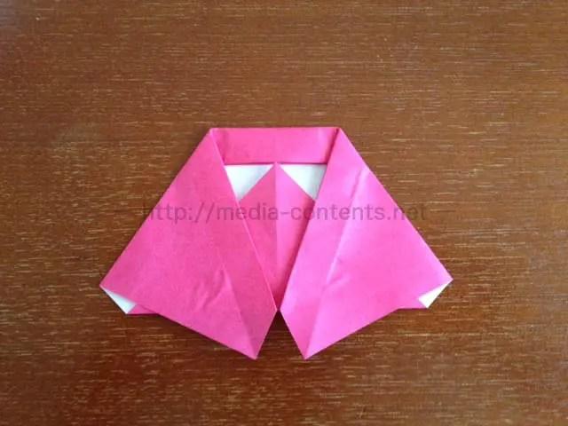 折り紙のマントの折り方!これは超簡単に作れます♪