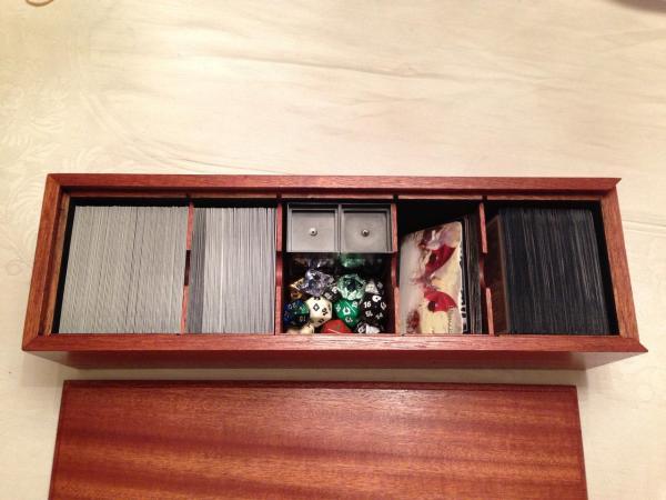 Deck Magic Gathering Carrying Case Storage