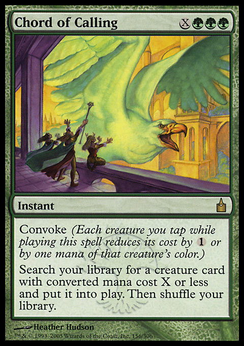 Chord of Calling - Instant - Cards - MTG Salvation