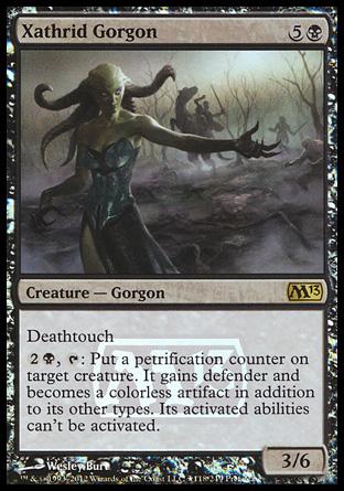 Xathrid Gorgon  Creature  Cards  MTG Salvation