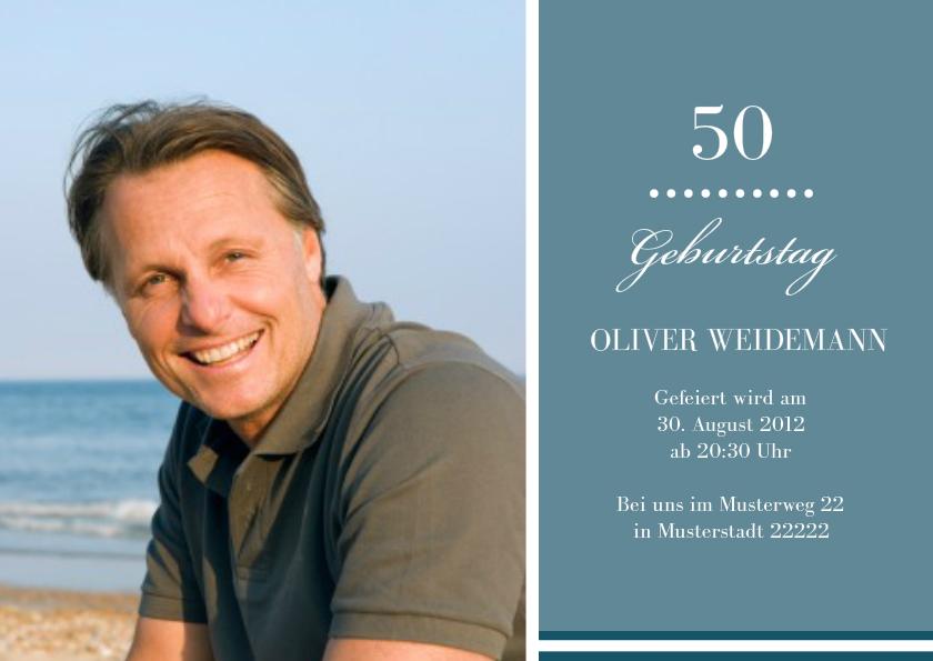 Einladung 50 Geburtstag Big B