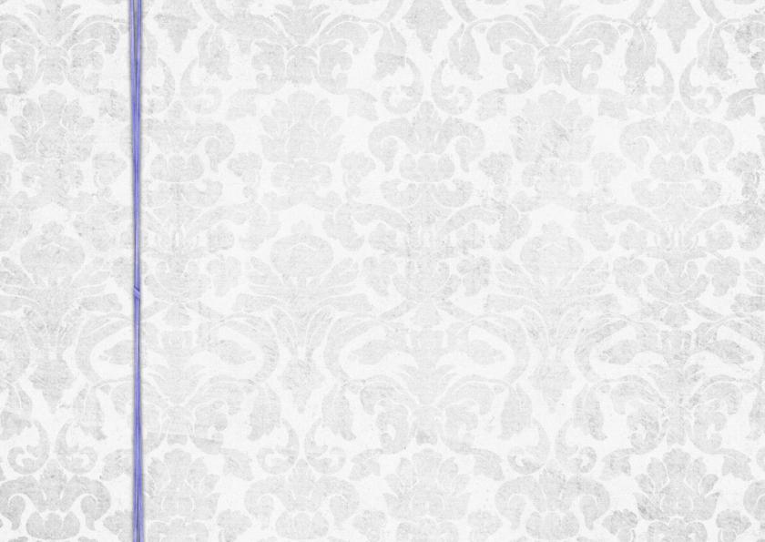 Menkarte Hochzeit Lila Grey 1