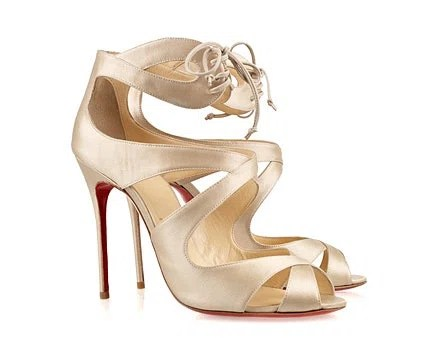Christian Louboutin Marechale 100 Satin Sandals, $895, net-a-porter.com