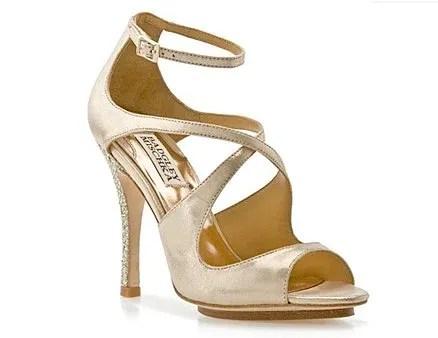 Badgley Mischka Keyes Sandal, $140, dsw.com