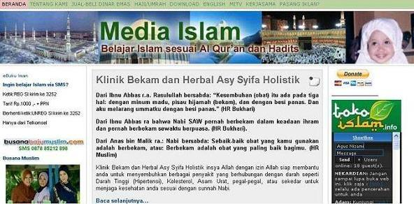 Web Site Media Islam