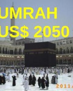 Umrah 2016 mulai US$ 2050
