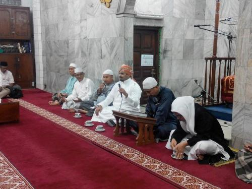 Abdurrahman bin Yahya Ceramah