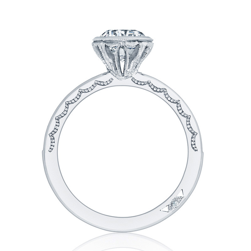 Tacori 301-25RD6 Starlit Channel Set Platinum Engagement