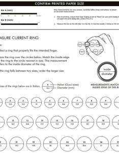 Method how to measure your current ring also gucci jewelry and bracelet size guides rh jrdunn
