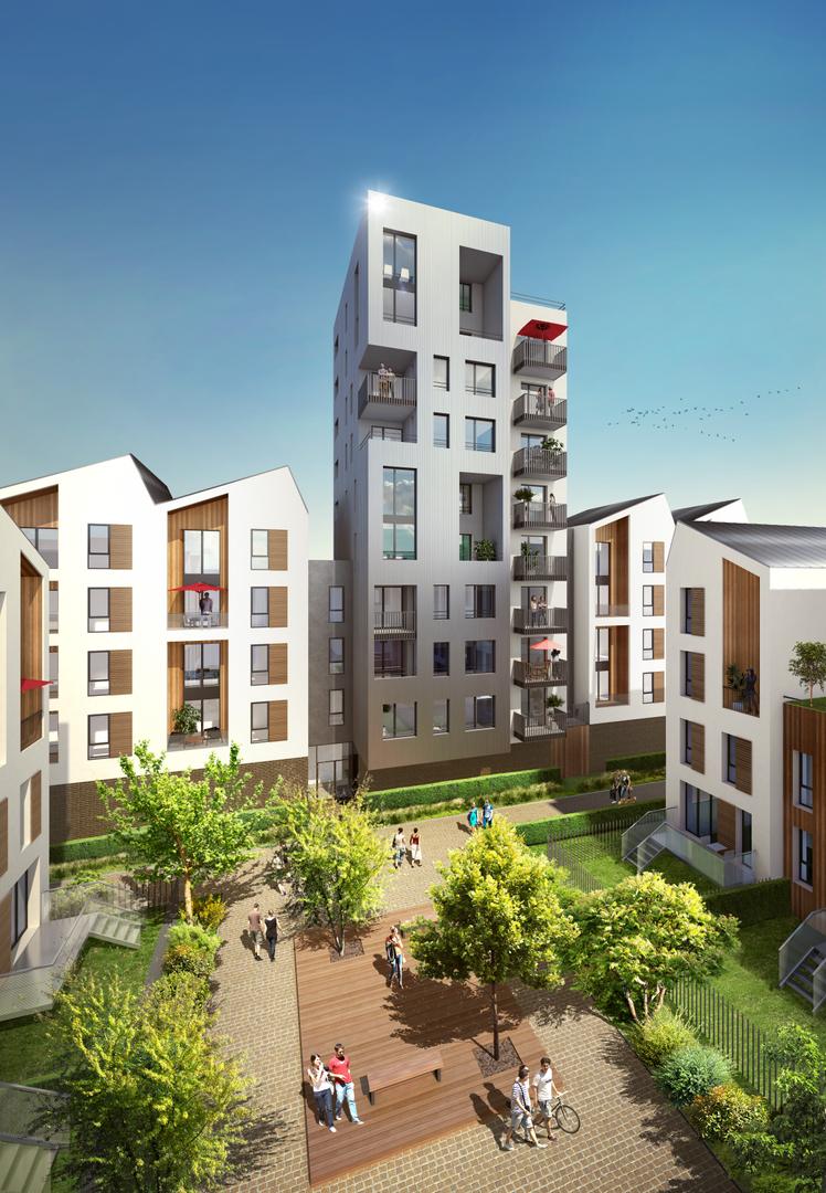 Programme immobilier neuf  Appartement  Bordeaux  Villapollonia  Nexity