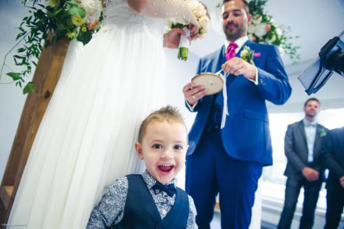 L'enfant des mariés