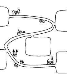 Blank Story Path/Story Map