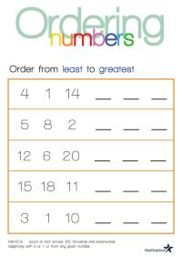 Ordering Fractions And Decimals From Least To Greatest ...