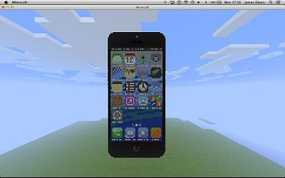 iphone minecraft cool builds screen shot java servers server forums minecraftforum dynamic maps why attachments