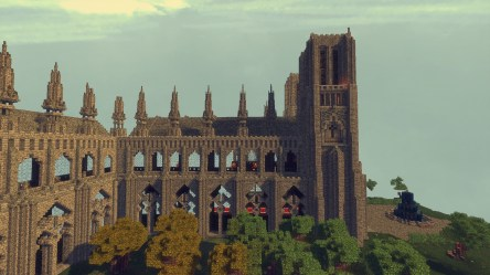 cathedral medieval minecraft side creative build organ pipe attachments