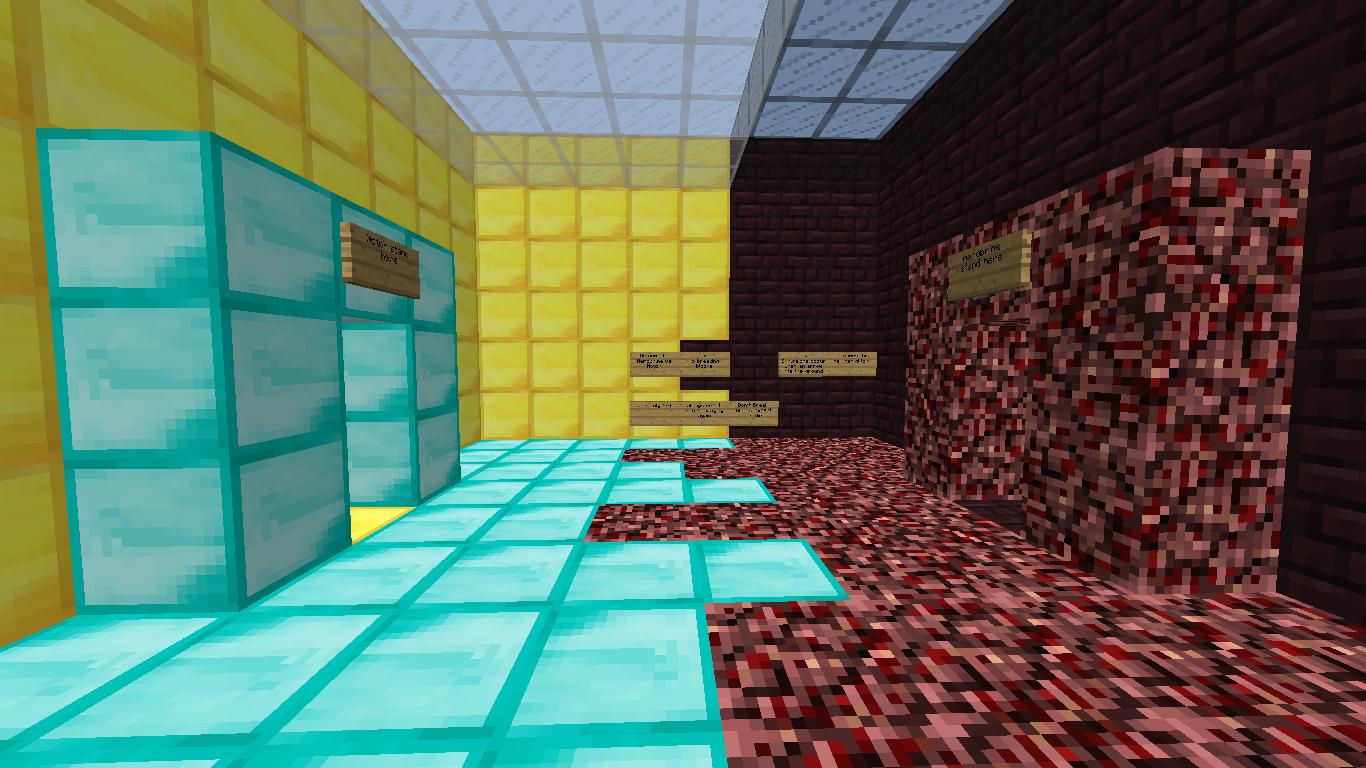 Notch vs Herobrine Minigame map! (1v1)