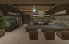 20 Hottest Fresh Minecraft Kitchen Designs That Look Like From A Fairy Tale
