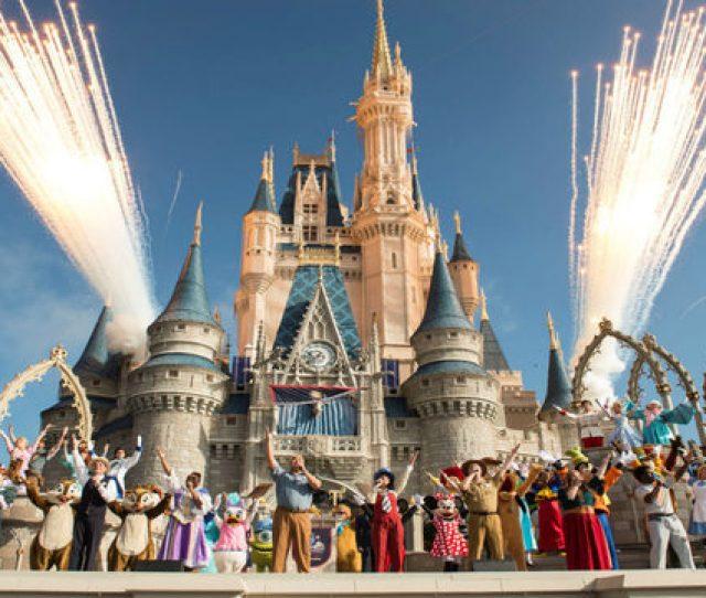 Walt Disney World Resort Marked Its 45th Anniversary On October 1 2016 In Lake Buena Vista Florida