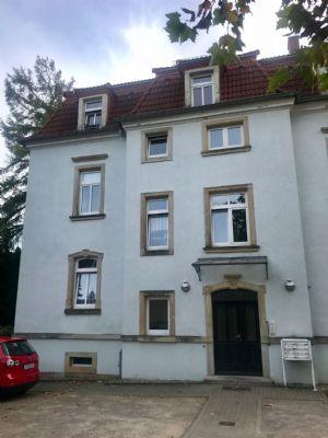 Zweiraumwohnung in sanierter Stadtvilla DresdenBhlau Blick zum Fernsehturm Etagenwohnung