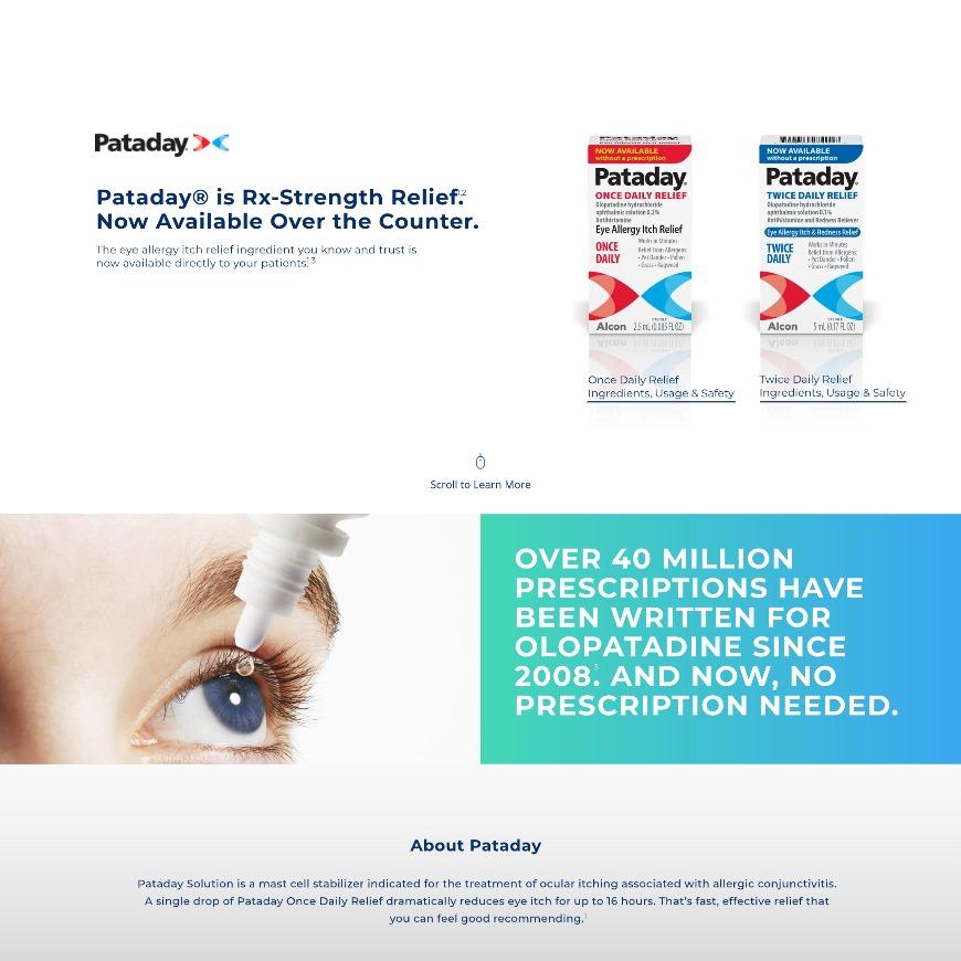 Pataday® (Olopatadine) Rx-to-OTC Switch | Professional ...