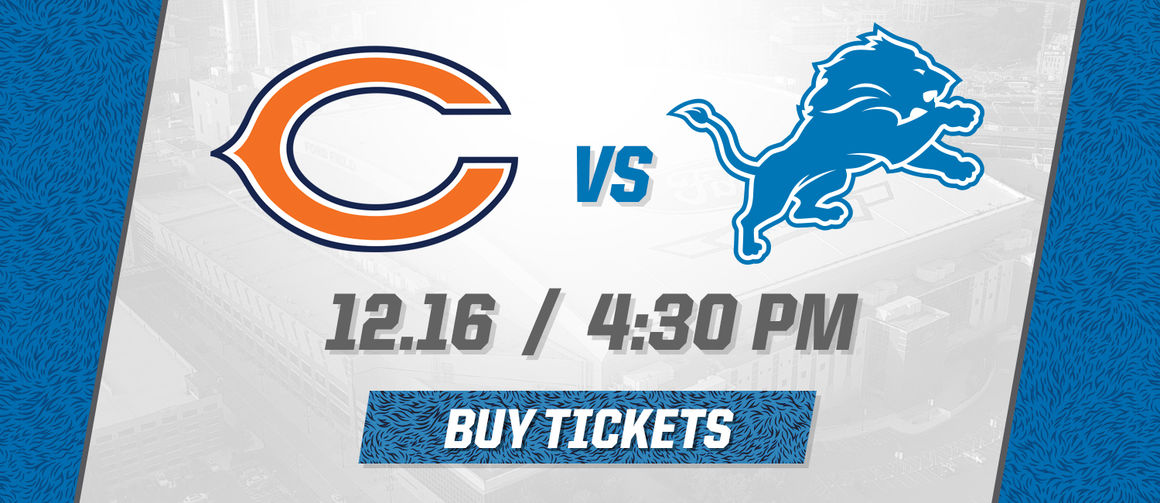 Image result for Chicago Bears vs. Detroit Lions