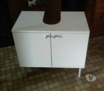 Meuble De Sous Lavabo Ikea Blanc Mouscron 7700 Meubles