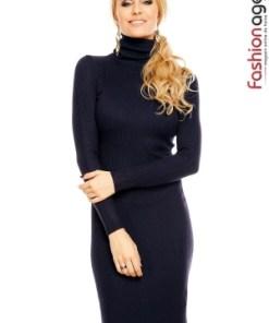 Rochie Tricotata Rhonda Bleumarin