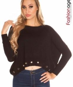 Pulover Roxana Black