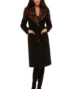 Palton Cleopatra Negru