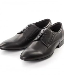 Pantofi Piele Coder negri eleganti