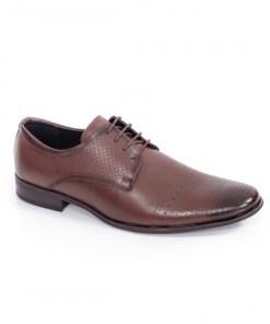 Pantofi barbati Piele Jonatan maro eleganti
