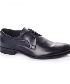 Pantofi barbati Piele Revison negri eleganti