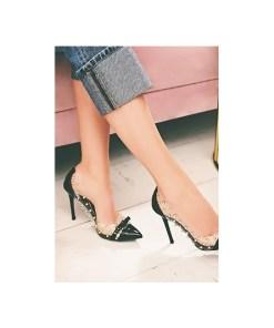 Pantofi stiletto Horizon Negri