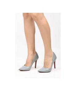 Pantofi stiletto Penza A Gri