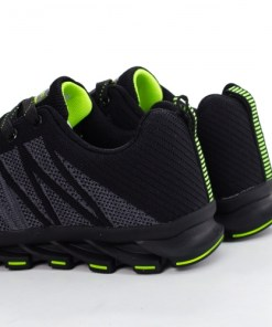 Pantofi sport Tocilami negri cu gri