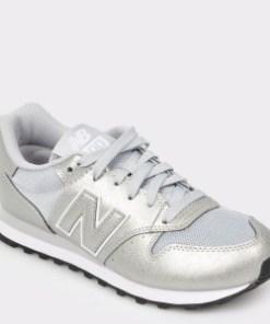 Pantofi sport NEW BALANCE argintii, Gw500, din piele ecologica