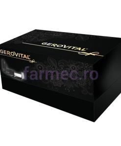 Caseta Gerovital H3 Evolution + Beauty: 10 Fiole cu Acid Hialuronic 5% + Kit sprancene + Mascara Supreme Lash