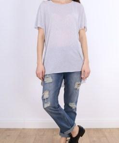 Tricou z simple greyi