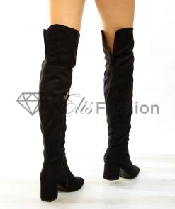 Cizme Gorgeous Black #3214