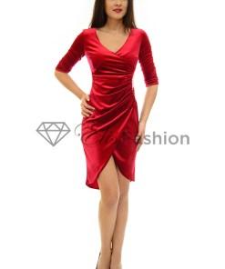Rochie Perla Donna Sweet Velvet Red
